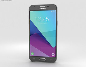 Samsung Galaxy J3 2017 Emerge Gray 3D