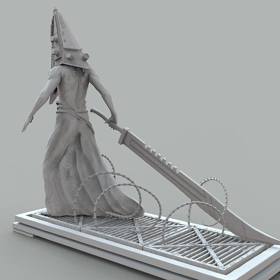 Just unother render of Pyramid Head