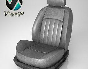 Car Seat Mercedes CLS 3D model