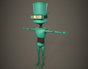 Robot Kid - Dirty Texture 3D asset