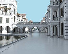 Commercial Shopping Center 3D
