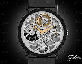 clock 3D model Watch mechanism