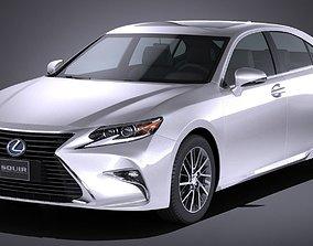 Lexus ES300h 2017 3D model