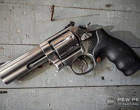Revolver 3D asset game-ready 38