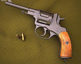 3D model Nagant M1895