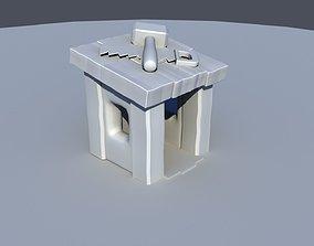 Builders Hut - Clash of Clans 3D model