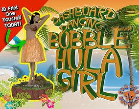 Dashboard Dancing Bobble Hula Girl 3D printable model