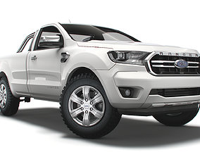 Ford Ranger RegularCab Limited EUspec 2021 3D model