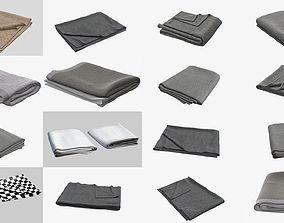 3D model Collection Blanket Folded