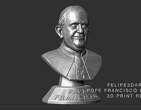 3D printable model POPE FRANCIS - PAPA FRANCISCO