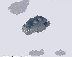 3D printable model Space Passenger Frigate Barnstaple