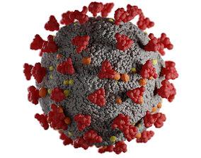 Corona Virus sarscov2 3D