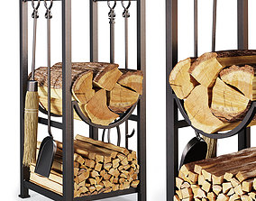 Fireplace accessories 3D