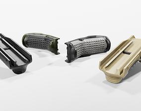 3D asset IMI Defense FSG2 Front Support Grip
