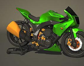 Kawasaki Ninja 600 R 3D