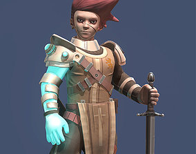 3D asset The last warrior
