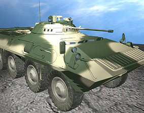 BTR90 Armored Personnel Carrier Russia 3D model