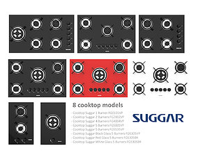 Suggar Cooktop Collection 3D model