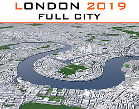 London Full City 2019 3D model