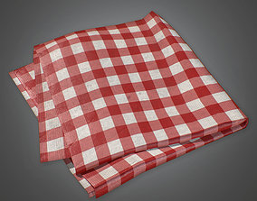 CAM - Table Cloth - PBR Game Ready 3D model