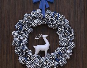 Christmas Wreath cone 3D model