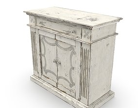Transitional Chest cabinet 3D model