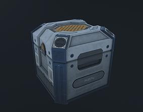 3D asset Sci-Fi Crate