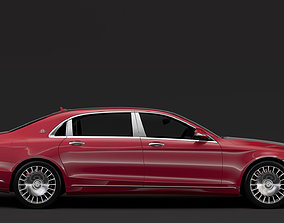 3D Mercedes Maybach S 560 X222 2018