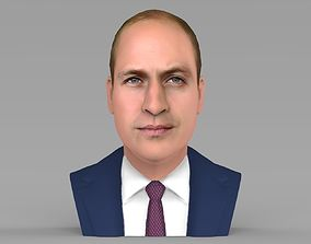 Prince William bust ready for full color 3D printing