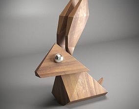 decor 3D printable model RABBIT