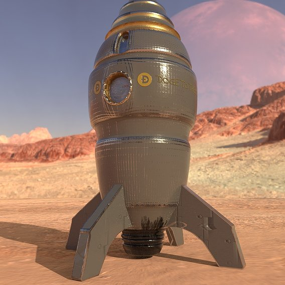 DOGECOIN Rocketship To the Moon!