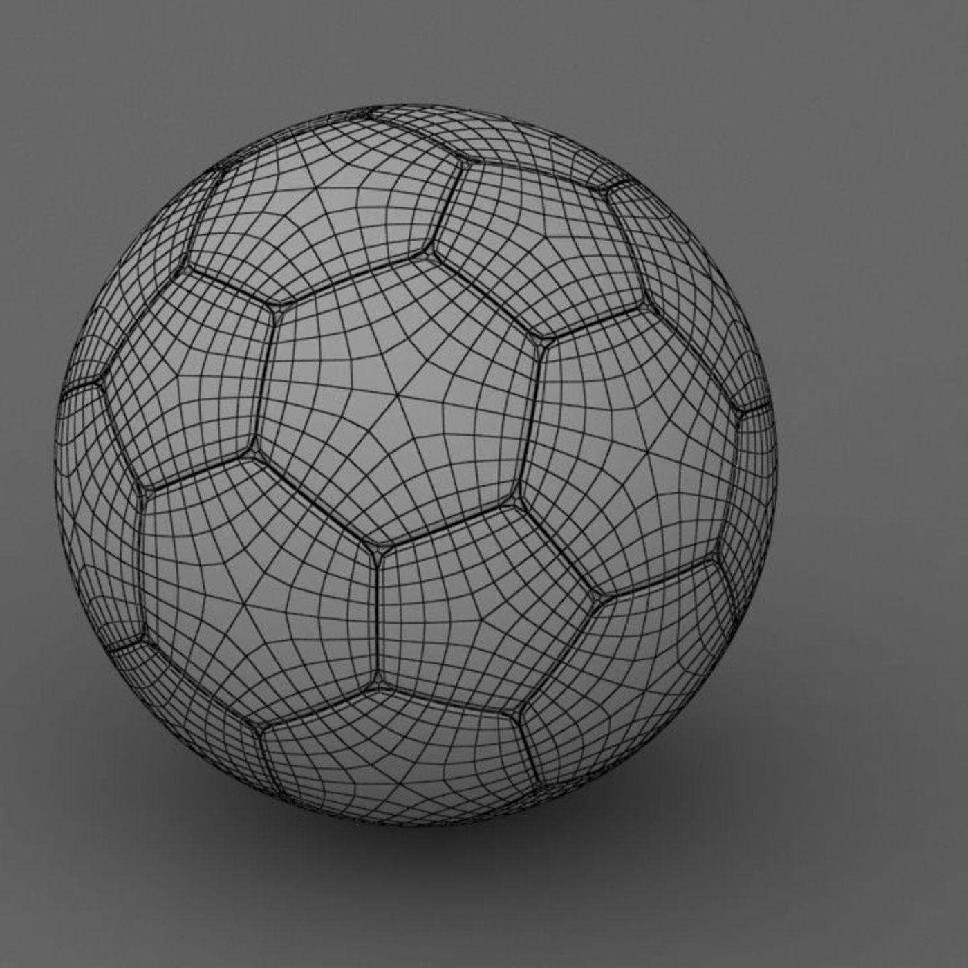 football 3d model