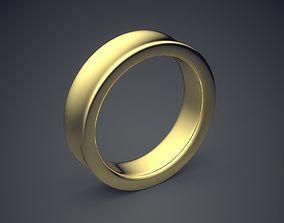 3D printable model Curved Simple Minimal Design Golden