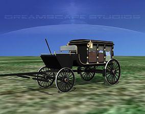 3D model Horse Drawn Hearse