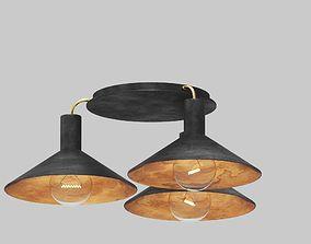 Fuse Lighting - Cairo Ceiling Mount 3D model