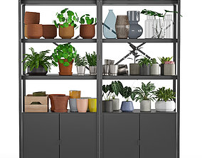 3D model Shelving unit Bror