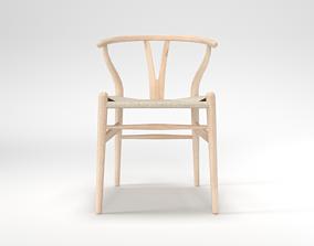 3D asset Wishbone Chair