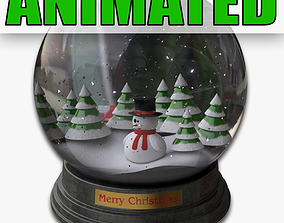 Snowglobe Animated 3D