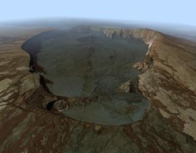 Volcano Mountains - Kilauea 3D
