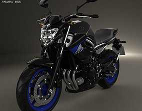 Yamaha XJ6 2014 3D model
