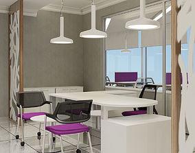 3D Office Interior 01 V2