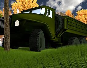 Ural-4320 3D model