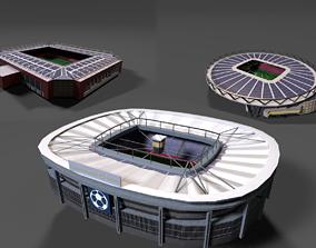 Realistic Stadium Pack 3D asset