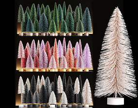 3D Miniature Christmas Trees - Decoration Set 1