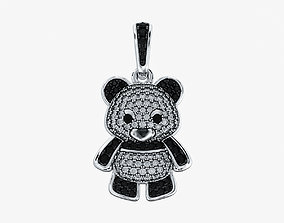 3D printable model Pendant Panda V1