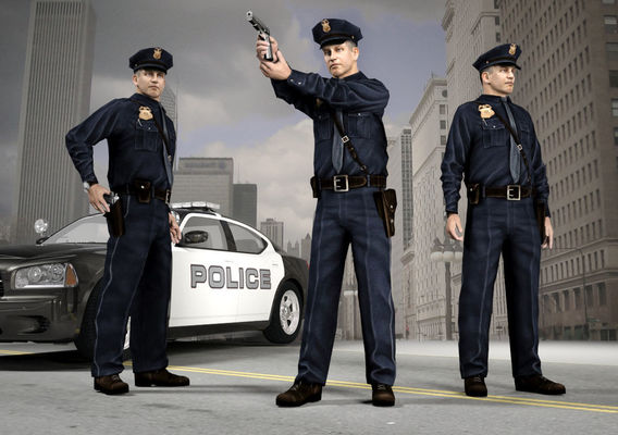 The NY City Policeman  3D model