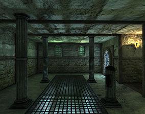 Fantasy Game Map 3D model