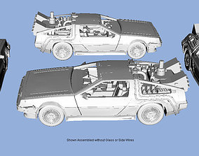HO Scale Back to the Future 3D Print Model 1-87