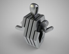 3D printable model Portal Necklace