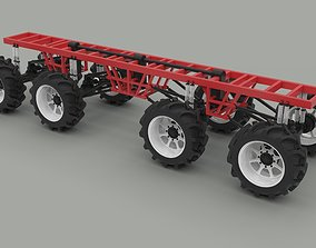 3D model Chassis 8x8
